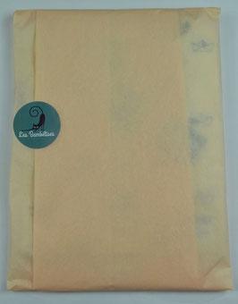 Emballage cadeau papier de soie couleur champagne