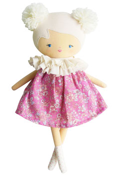 Poupée Baby Ellie robe rose Alimrose
