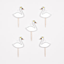 5 bougies cygnes my little day
