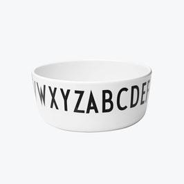 Bol alphabet Design letters diamètre 11cms
