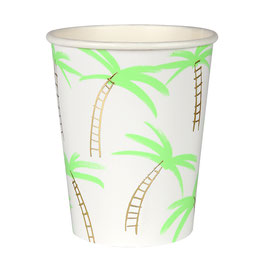 8 gobelets palmiers meri meri