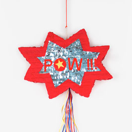 "Pinata ""Pow"" super héros My little day"