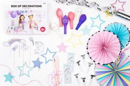 Kit décoration fête licorne
