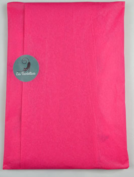 Emballage cadeau papier de soie couleur fushia