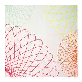 20 serviettes thème neon Meri Meri