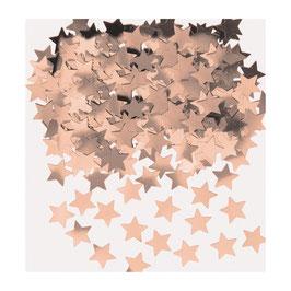 Confettis de table petites étoiles rose gold