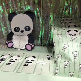 25 Pochettes Cadeaux en Papier Panda