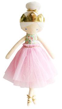 Poupée Princesse Amelie rose pastel Alimrose