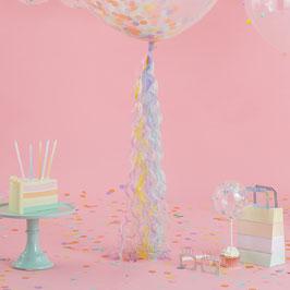 Guirlande Tassel pastel pour ballon