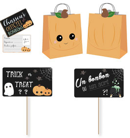 Kit Halloween Chasse aux Bonbons