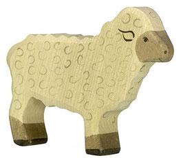 Mouton debout en bois Holztiger