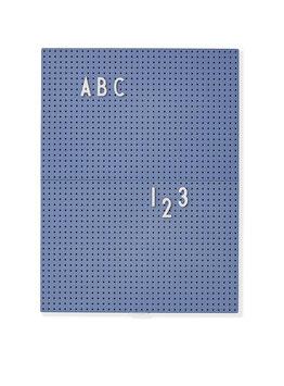 Tableau bleu pour messages Letter board Design letters format A4 21cmsX28cms