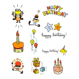 TATTOO PACK HAPPY BIRTHDAY GARCON BY CHISPUM