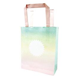 8 sacs à cadeaux invités dégradés pastels