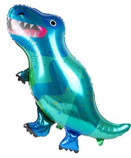 Ballon métallique Tyrannosaure 90cmsX55cms