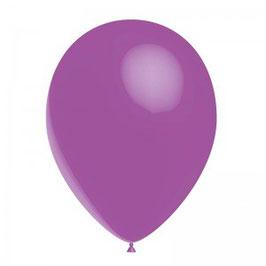 10 ballons violets en latex