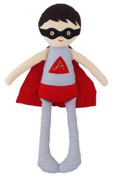 Grand Doudou super héros Alimrose 45cms