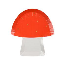 8 assiettes champignons meri meri