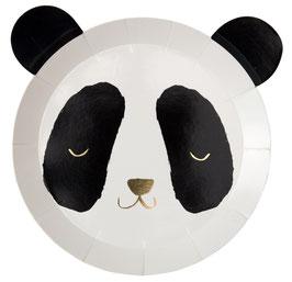 8 Petites Assiettes Panda Meri Meri