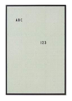 Tableau vert menthe pour messages Letter board Design letters format A2 44cmsX65cms