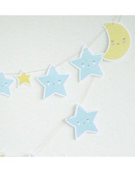 Guirlande lune et étoiles A little lovely company