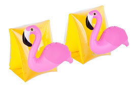 2 brassards enfant flamant rose Sunnylife