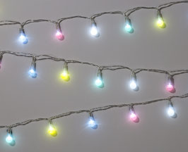 Guirlande lumineuse pastel 25 mini ampoules leds