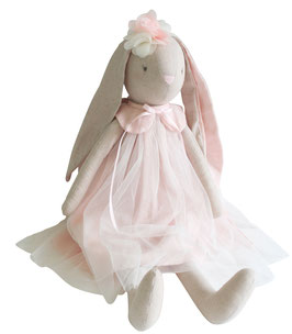 Grande poupée lapin ballerine Bessie rose Alimrose 70cms