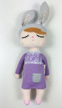Poupée lapin parme by Miniroom