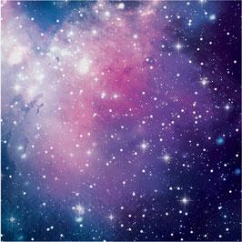 16 Grandes Serviettes Galaxie