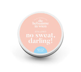 no sweat, darling! - Deo milch plus
