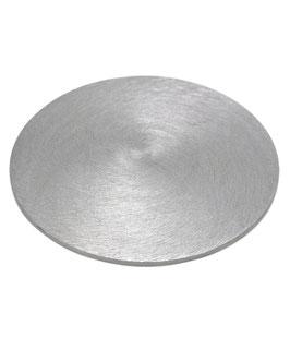 Silberner Kerzenteller, flach, Ø 100mm