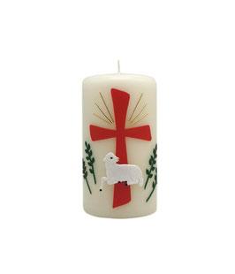 Kreuz, Lamm, Grünzweige