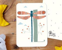 L wie Libelle