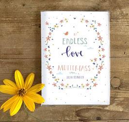 Mutterpasshülle - endless love