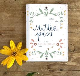 Mutterpasshülle - Flowers