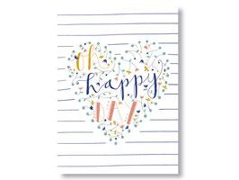 "Postkarte ""Oh, happy day"""