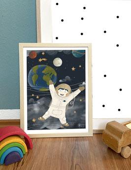 "Print ""Astronaut"""