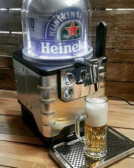 Heineken Blade Zapfanlage inkl. 2 Fässer á 8 Liter