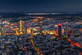 -BIG CITY LIGHTS FFM-LEINWAND 90 x 60CM / 120 x 80CM