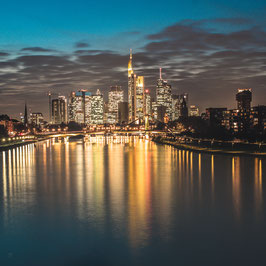 -LIGHTS OF MAINHATTAN-LEINWAND 80 x 80CM