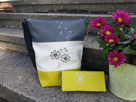 4. Trödel Tasche Kunstleder grün