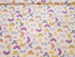 Baumwolle Schmetterlinge