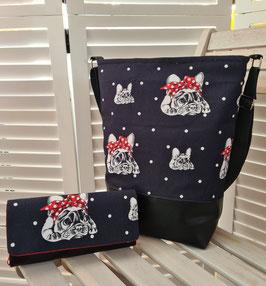 1. Trödel Design Tasche Bulldogge