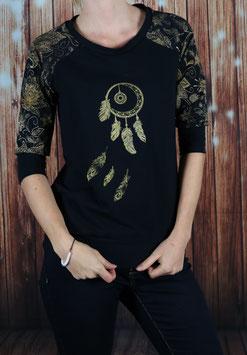 Shirt mit 3/4 Arm Traumfänger
