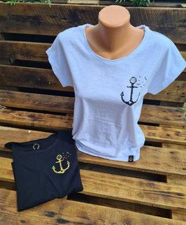 Damen-Shirt schwarz oder weiß