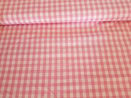 Baumwolle Vichy Karo 10mm girlie pink