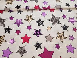 Baumwolle Sterne