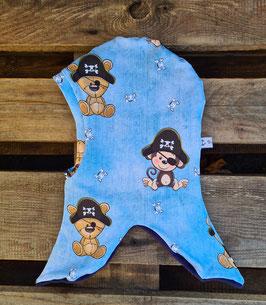 2. Schlupfmütze Teddy und Affe Pirat