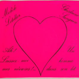 disque 45T vinyl. Michèle Letellier et Ghislaine Sanguin